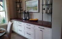 Lake Mary, White Dining Room Storage